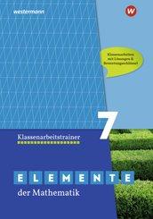 Elemente der Mathematik Klassenarbeitstrainer 7, Ausgabe für das G9 in Nordrhein-Westfalen