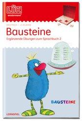 LÜK: Bausteine - Ergänzende Übungen zum Sprachbuch 2