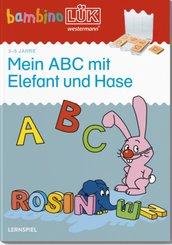 Mein ABC mit Elefant und Hase