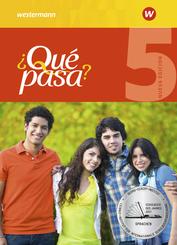 Qué pasa? Nueva edición (Ausgabe 2016): Schülerband; 5