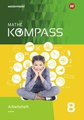Mathe Kompass, Ausgabe für Bayern: 8. Schuljahr, Arbeitsheft