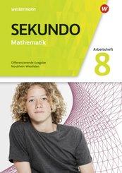 Sekundo, Ausgabe 2018 für Nordrhein-Westfalen: 8. Schuljahr, Arbeitsheft mit Lösungen