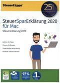 SteuerSparErklärung 2020 Mac, 1 CD-ROM