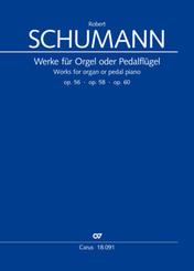 Werke für Pedalflügel oder Orgel
