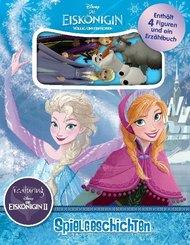 Eiskönigin 2, Pappbilderbuch + 4 Sammelfiguren + Aufbewahrungsbox
