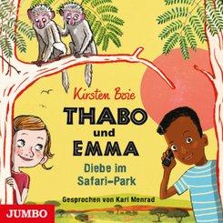 Thabo und Emma - Diebe im Safari-Park, Audio-CD
