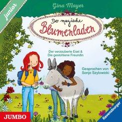 Der magische Blumenladen. junior., Audio-CD