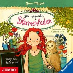 Der magische Blumenladen - Hilfe per Eulenpost, Audio-CD