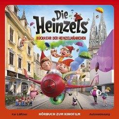 Die Heinzels - Filmhörbuch, 2 Audio-CDs