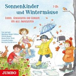 Sonnenkinder und Wintermäuse. Lieder, Geschichten und Gedichte für alle Jahreszeiten, 2 Audio-CD