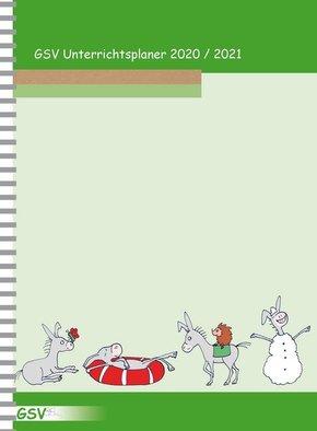 GSV Unterrichtsplaner für Grundschullehrer (DIN A4) 2020/21, Wire-O-Ringbindung