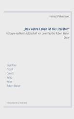 """""""Das wahre Leben ist die Literatur"""""""