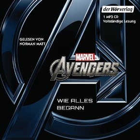Marvel Avengers - Wie alles begann, 1 Audio, MP3