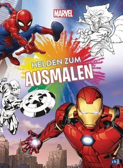 Marvel Helden zum Ausmalen