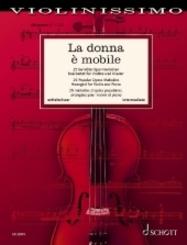 La donna è mobile, Violine und Klavie