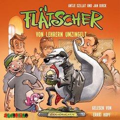 Flätscher - Von Lehrern umzingelt, 1 Audio-CD