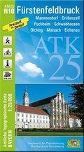 ATK25-N10 Fürstenfeldbruck (Amtliche Topographische Karte 1:25000)