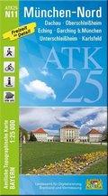 ATK25-N11 München-Nord (Amtliche Topographische Karte 1:25000)