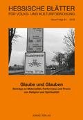 Hessische Blätter für Volks- und Kulturforschung: Glaube und Glauben; 54