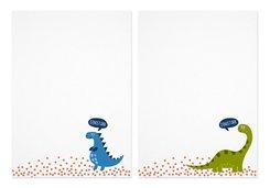 Notizblock-Set Dinosaurier (für Kinder)