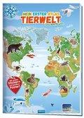Mein erster Atlas Tierwelt Stickerbuch