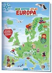 Mein erster Atlas Europa Stickerbuch