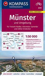 KOMPASS Fahrradkarte Münster und Umgebung 1:50.000, FK 3212