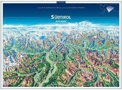 KOMPASS Panorama Südtirol, Alto Adige, Poster