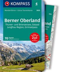 KOMPASS Wanderführer Berner Oberland