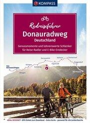 KOMPASS RadReiseFührer Donauradweg Deutschland
