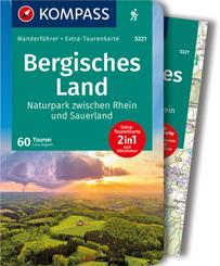 KOMPASS Wanderführer Bergisches Land, Naturpark zwischen Rhein und Sauerland