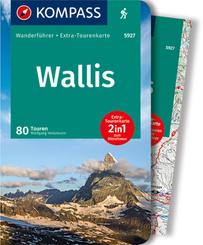 KOMPASS Wanderführer Wallis