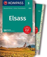 KOMPASS Wanderführer Elsass