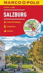 MARCO POLO Citymap Salzburg 1:12 000