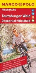 MARCO POLO Freizeitkarte Teutoburger Wald, Osnabrück, Bielefeld