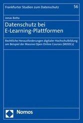 Datenschutz bei E-Learning-Plattformen