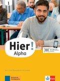 Hier! Alpha - Kurs- und Übungsbuch mit Audios - Bd.1