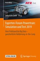 Experten-Forum Powertrain: Simulation und Test 2019