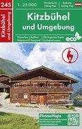 Kitzbühel und Umgebung, Wander- Radkarte 1 : 25 000