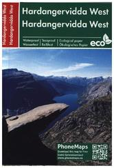 Hardangervidda West, Wander - Radkarte 1 : 50 000