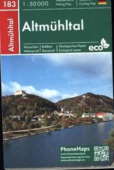Altmühltal, Wander- Radkarte 1 : 50 000