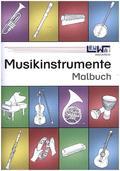 Musikinstrumente Malbuch