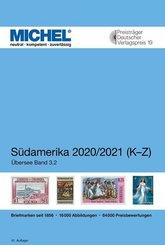 Michel Übersee-Katalog: Südamerika 2020/2021 (K-Z); 3.2