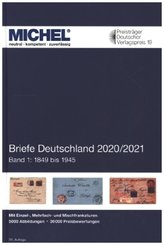 Michel Briefe-Katalog Deutschland 2020/2021