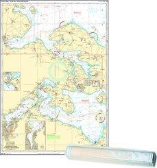 Einzelkarte Flensburger Förde - Als Sund Abenra Fjord / Flensburg Fjord West (Ausgabe 2020)