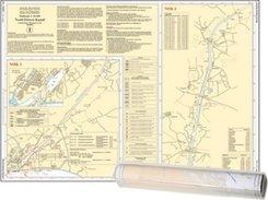 Einzelkarte Nord-Ostsee-Kanal (Ausgabe 2020)