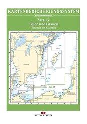 Berichtigung Sportbootkarten Satz 13: Polen und Litauen (Ausgabe 2020)