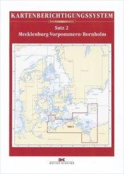 Delius Klasing-Sportbootkarten, Kartenberichtigungssystem: Berichtigung Sportbootkarten Satz 2: Mecklenburg-Vorpommern - Bornholm (Ausgabe 2020)