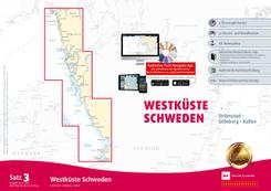 Sportbootkarten Satz 3: Westküste Schweden (Ausgabe 2020)