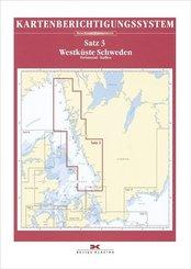 Berichtigung Sportbootkarten Satz 3: Westküste Schweden (Ausgabe 2020)